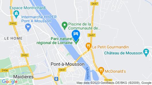 Hotel de l'Abbaye des Premontres Map