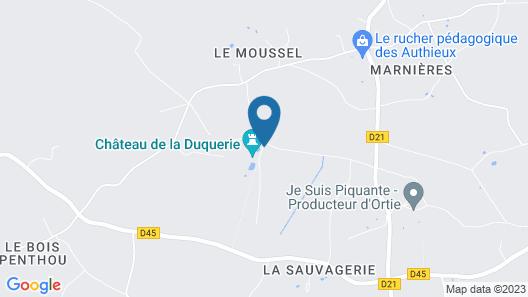 Château de la Duquerie Map