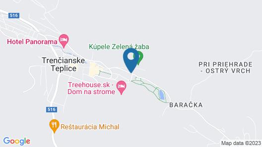 Penzión Baske Map