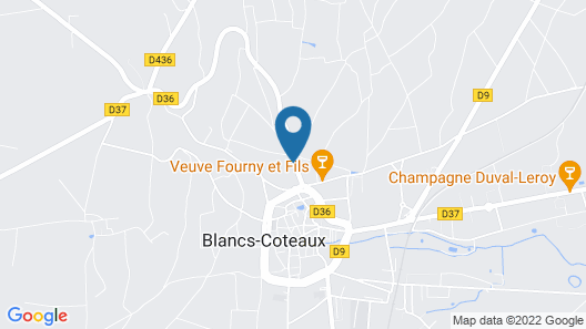 Domaine Le Clos des Belvals Map