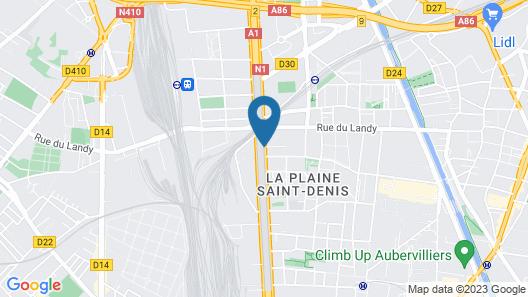 ibis Styles Paris Saint Denis Plaine Map