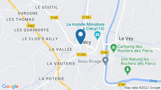 Au Site Normand Map