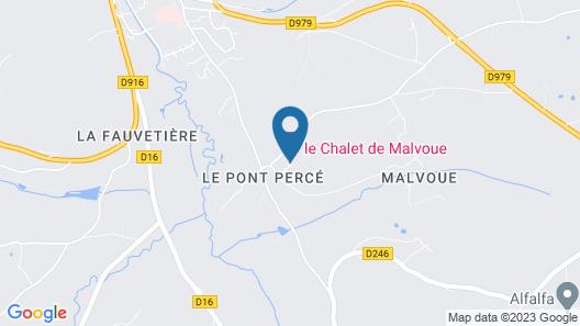Chalet de Malvoue Map