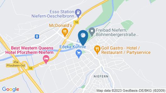 Hotel Krone Map