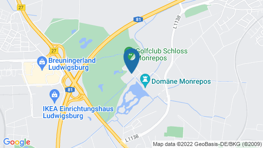 Schlosshotel Monrepos Map