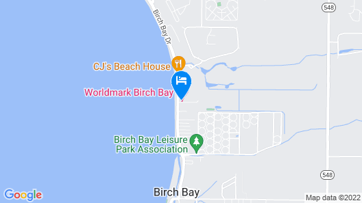 Worldmark Birch Bay Map