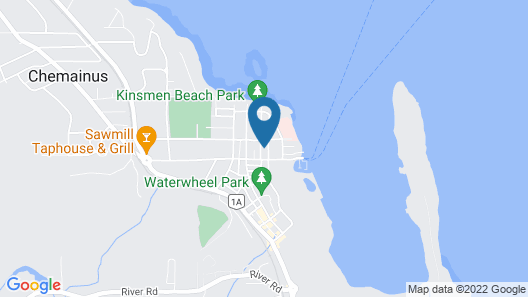 Old Town Charmer In-law Suite Walking Distance To Beach and Ammenities Map