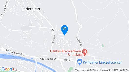 Ausblick Kelheim Map