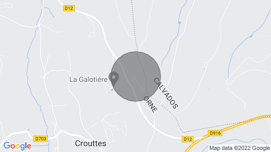 Gite Crouttes, 3 Bedrooms, 6 Persons Map
