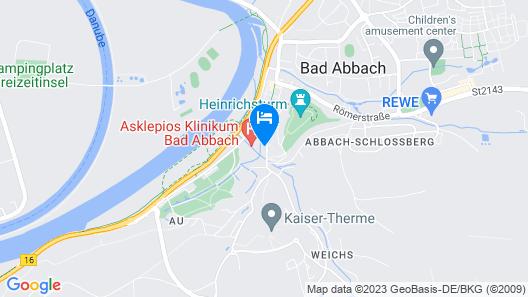 Hotel Parkresidenz Bad Abbach Map