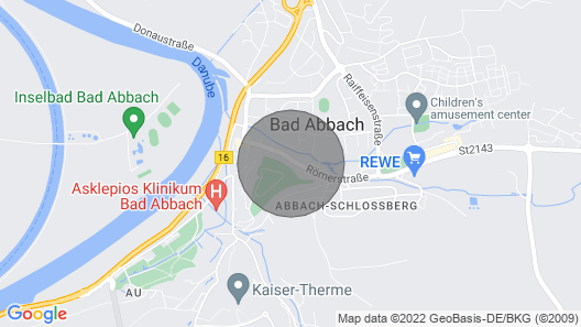 A Cozy two Bedroom Apartment in Bad Abbach Map