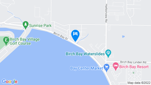 Birch Bay Waterfront Home - Steps to Beach! Map