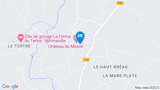 Chateau du Mesnil Map