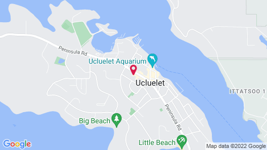 Pluvio Restaurant and Rooms Map