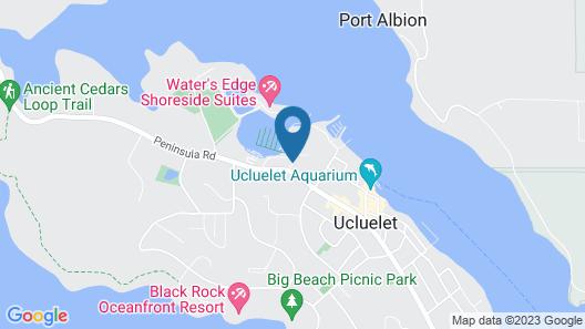 West Coast Motel Map
