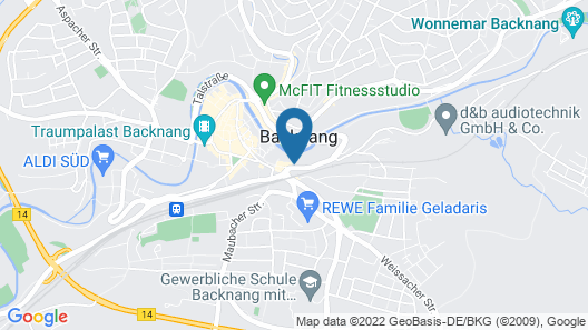 Hotel Bitzer Map