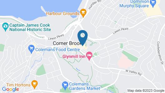 Hew & Draw Hotel Map