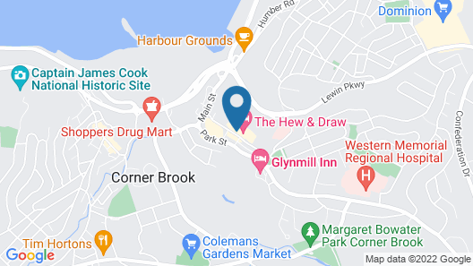 Greenwood Inn & Suites Map