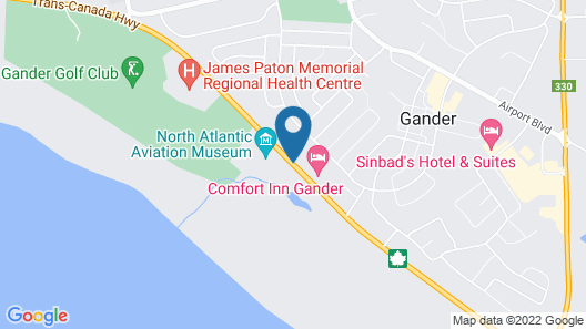 Albatross Hotel Map