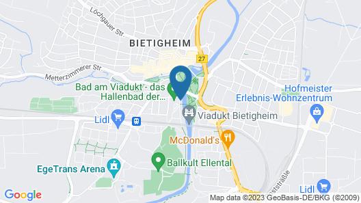Hotel Eberhards am Wasser Map