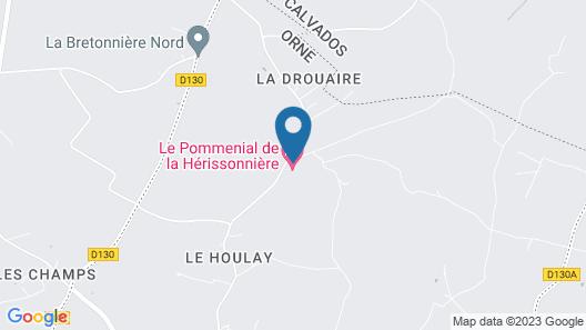 Le Pommenial de la Hérissonnière Map