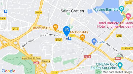 ibis Saint Gratien Map