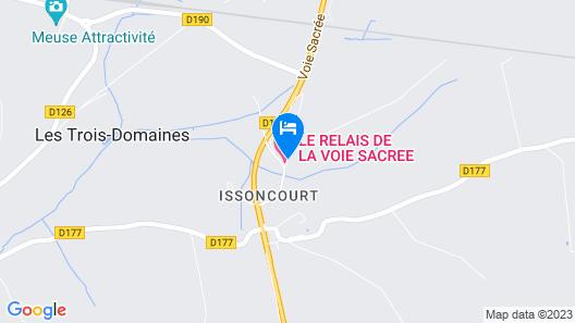 Hôtel le Relais de la Voie Sacrée Map