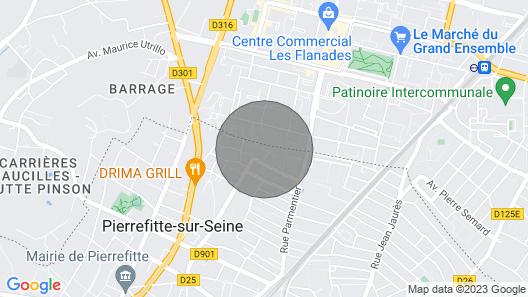 APARTMENT LE CALBASSIER Map