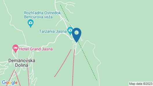 Chalets Jasná Collection Map