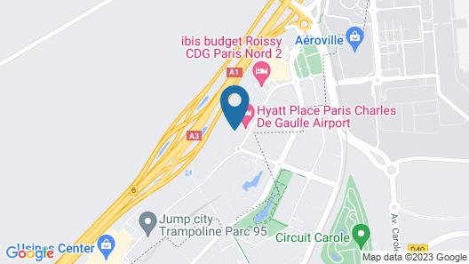 Hyatt Place Paris Charles de Gaulle Airport Map