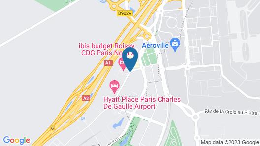 hotelF1 Roissy CDG (renovated) Hotel Map