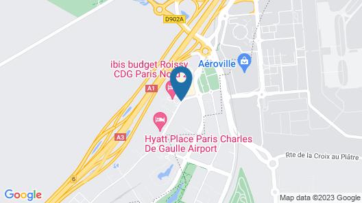 Novotel Suites Paris CDG Airport Villepinte Map