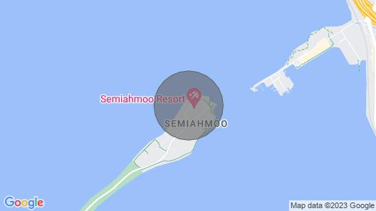 Beautiful Beachfront Getaway in Stunning Semiahmoo Map