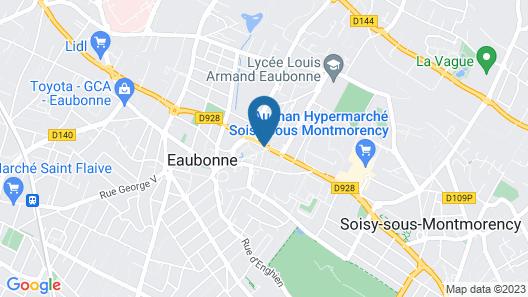 urban by balladins Eaubonne Map