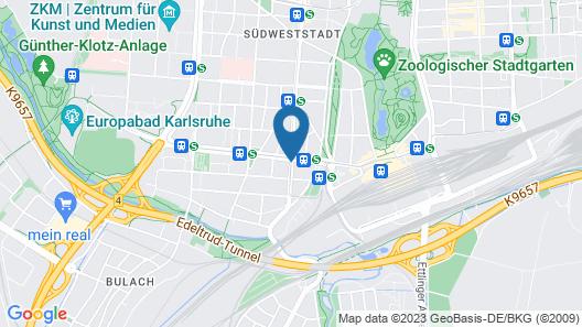 Scope Hotel Greif Map