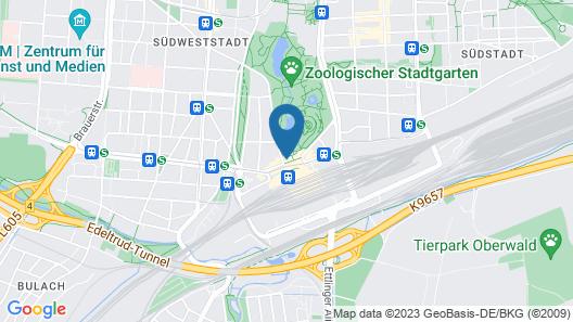 Hotel Löwe am Tiergarten Map