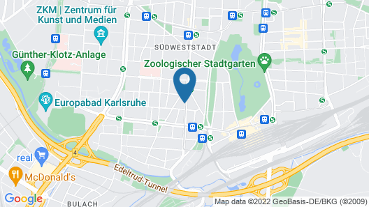 bbkarlsruhe.de Map