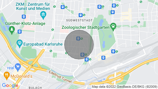 bbkarlsruhe. en beautiful private rooms and shared rooms Map