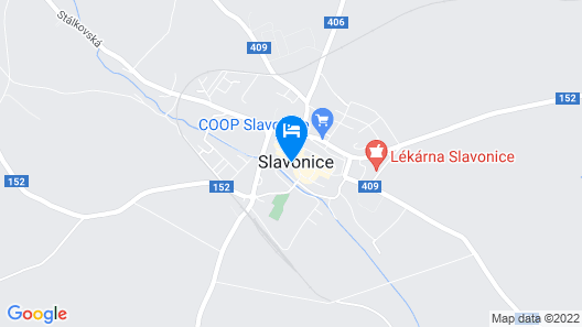 Hotel Pivoňka Map