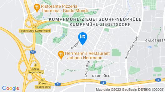 Hotel St. Georg Map