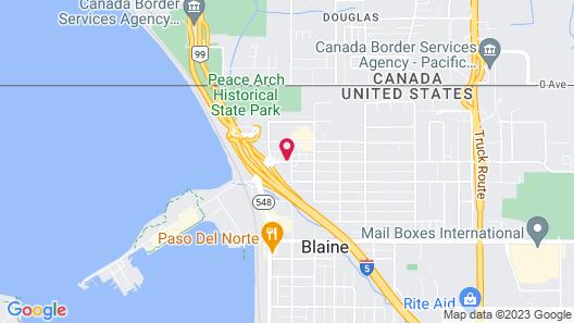 Northwoods Motel Map