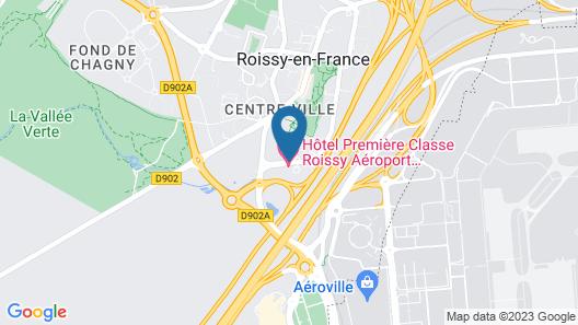 Hotel Campanile Roissy-En-France Map