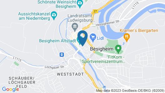 cafe anker Map