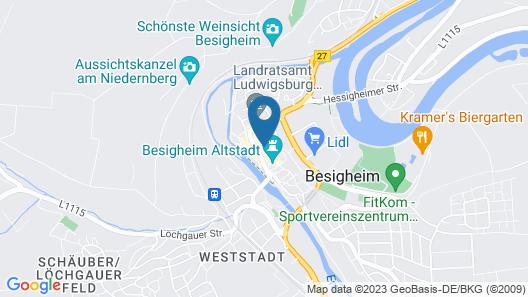 Hotel Hirsch Map