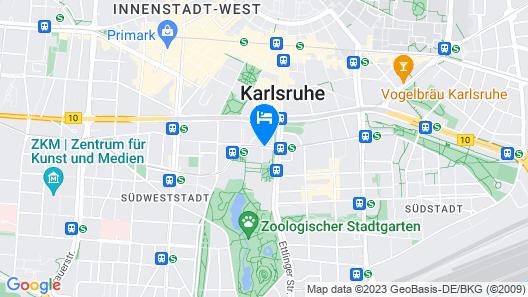Novotel Karlsruhe City Map