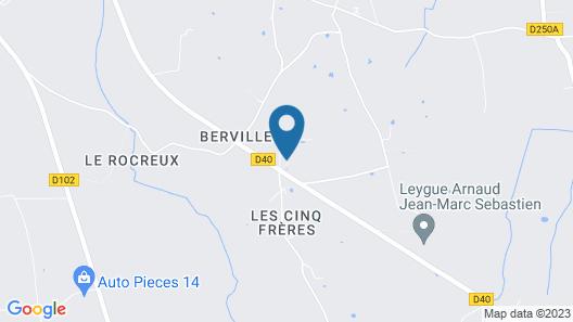 Maison d'Hôtes La Ferme de L'Oudon & Spa Map