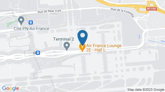 YOTELAir Paris CDG - Transit Hotel Map
