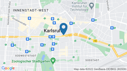 Centro Hotel Blankenburg by INA Map