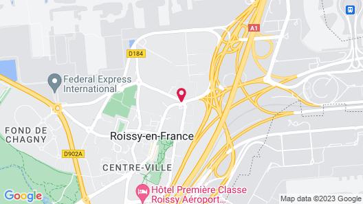 ibis Styles Paris Roissy CDG Map