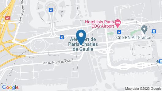 Mercure Paris CDG Airport & Convention Map